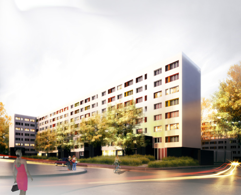 Archiae projet anru mons en baroeul 59 archiae for Projet architecture pdf