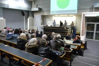 1 ère réunion publique
